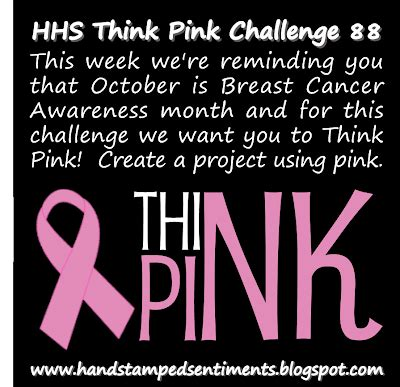 Think Pink For Breast Cancer Awareness Month by Sting With Julie Gearinger Think Pink Breast Cancer