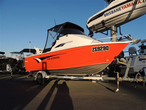brisbane yamaha used boats used 525 horizon scorpion brisbane yamaha