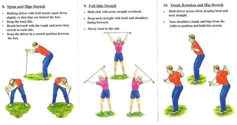 golf swing flexibility exercises driving range routine tips and tricks for a better round