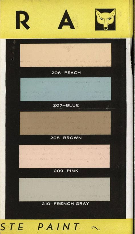 17 best images about 1920 s 1940 s exterior interior on paint colors paint palettes