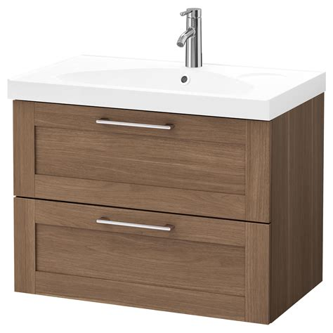 Wash Stand With Drawers by Godmorgon Edeboviken Wash Stand With 2 Drawers Walnut