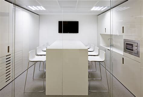 Office Kitchen Table Contemporary Design Meets Overtones At Inaugure Headquarters