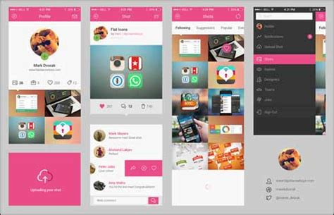 design app with photoshop 51 best free photoshop psd ui kits for design awesomeness