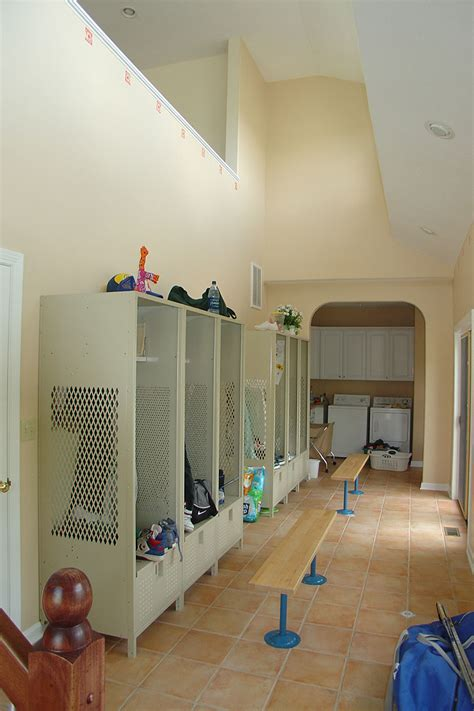 room locker laundry mud room renovation gallery hurst remodel