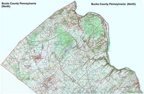 map of bucks county map of bucks county pa world map 07