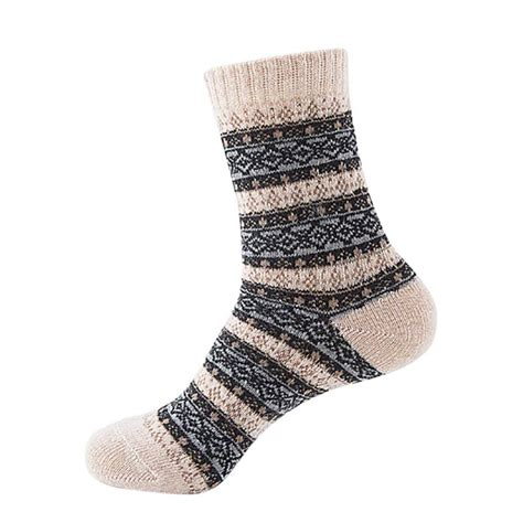 ethnic pattern socks ethnic thermal socks winter warm knit wool socks women s