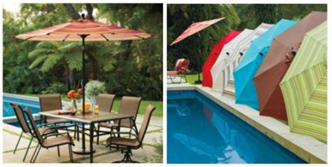 $39.99 (Reg $190) 9 ft Patio Umbrella at Kohl's