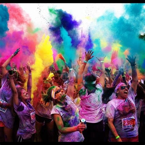 color run paint color run for cancer quotes quotesgram