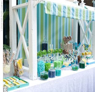 Green And Blue Buffet How To Plan A Wedding Candy Buffet Jerry S Nut House