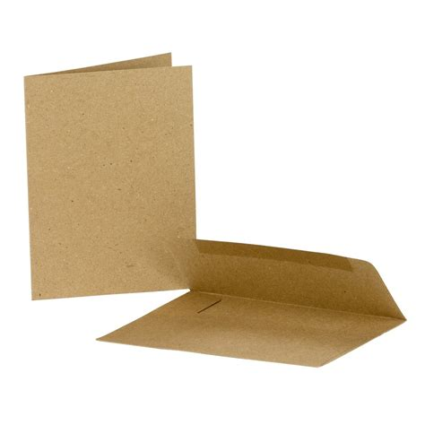 Kraft Gift Card Sleeves - cards envelopes note card kraft canvas corp brands