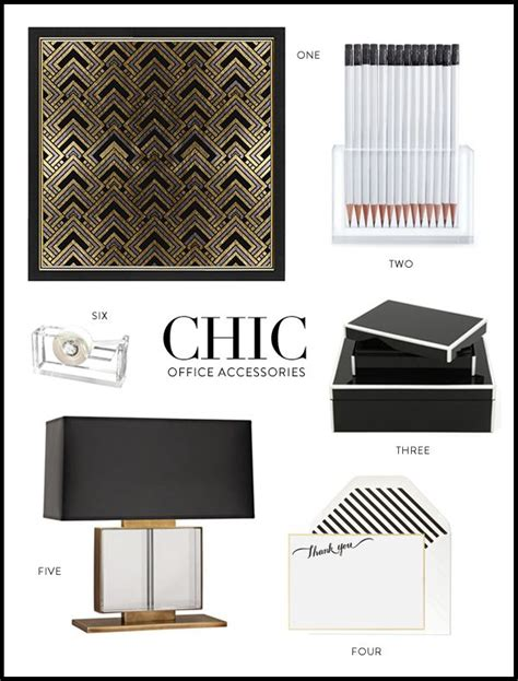 275 best images about chic glam office supplies on
