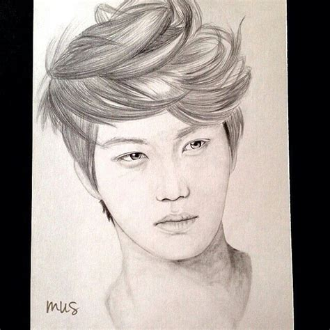 Kpop Drawing by 20 Best Images About Kpop Drawings On Posts