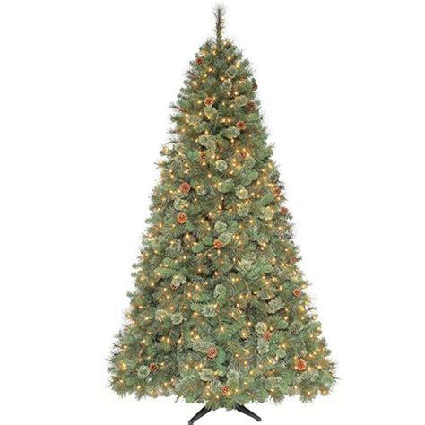 martha stewart pet safe christmas tree martha stewart living 7 5 ft pre lit sparkling pine artificial tree with clear