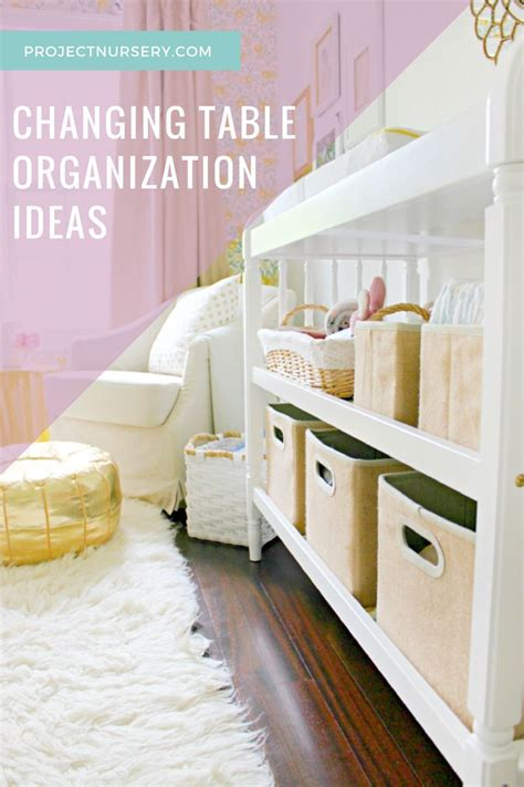 Changing Table Organization Set Your Changing Table Up For Success Changing Table Organization Organizations And