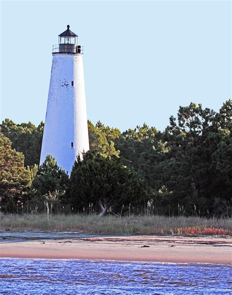 Georgetown Light by Georgetown Light Winyah Bay Sc Photograph By Pat Walsh
