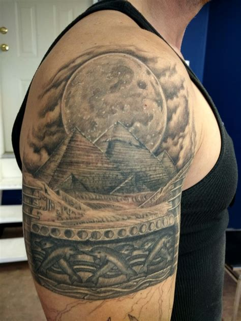 ancient art tattoo studio pyramids pyramid