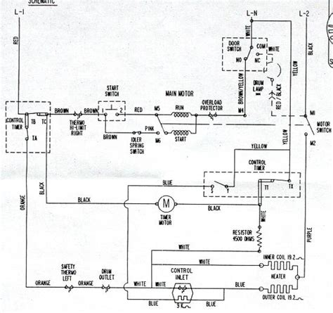 ge dryer electrical diagram wiring diagram with description