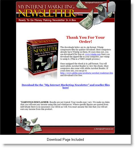 my internet marketing newsletter templates templates