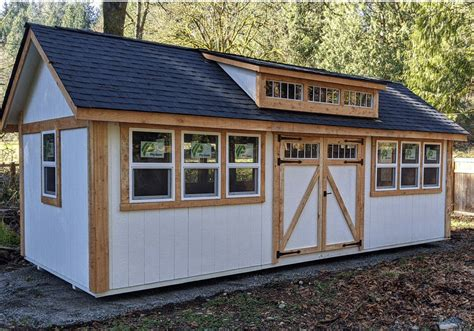 determine   shed size   heritage