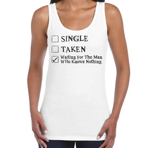 Clothes My Back 2202008 by Womens Slogans Vests Waiting For Jon Snow Of