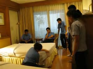 housekeeping department