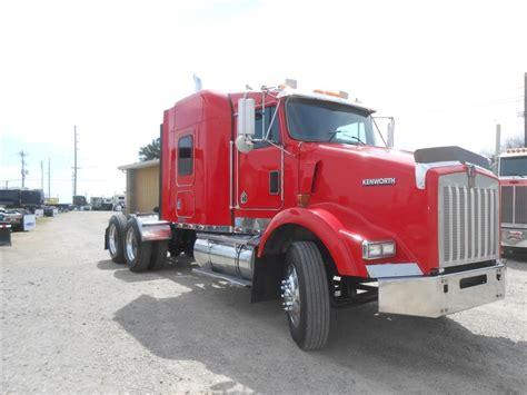 2004 kenworth truck used 2004 kenworth t800 tandem axle sleeper for sale in ms