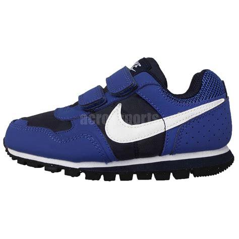 Nike Md Runner Blue Made In nike md runner psv blue navy white preschool boys running