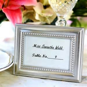 Picture Frames For Favors by 3 X 4 Beaded Border Silver Place Card Photo Frame Favors