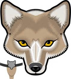 wolf mask template wolf mask wolves and masks on