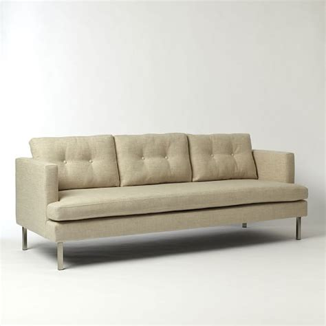 west elm jackson sofa jackson sofa 88 quot west elm