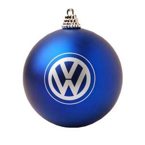volkswagen christmas genuine volkswagen vw globe ball christmas tree holiday