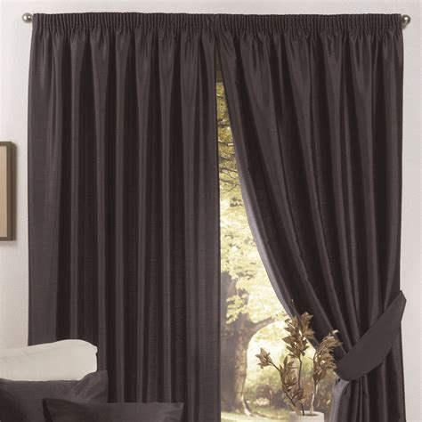 silk lined drapes faux silk lined curtains