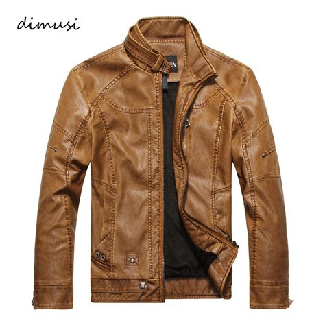 Jaket Leather Casual Style 31 autumn winter leather jacket motorcycle leather jackets business casual coats brand new