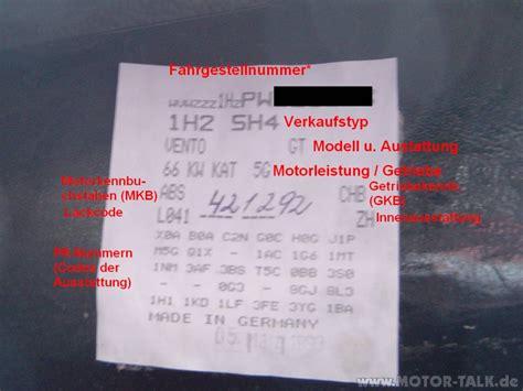 Vw Motorcode Aufkleber by Aufkleber Golf 3 Us Getriebe Frage Hilfeeeeeeee Vw