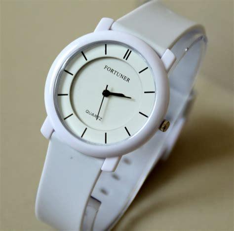Fortuner J 854 Green jam tangan fortuner pria wanita water resistant banyak