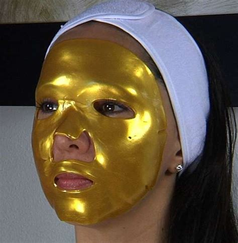 Mask Gold 24k cleopatra inspired kollagenx 24k gold mask