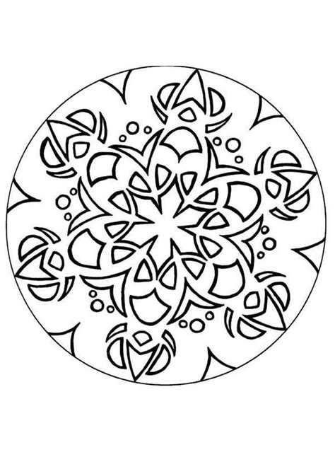 mandala coloring book a coloring book with easy and relaxing mandalas to color gift for boys tweens and beginners books simple mandala coloring pages coloring home