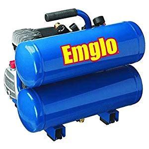 emglo e810 4v 4 gallon heavy duty lube stacked tank air compressor home improvement