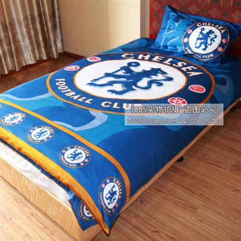 Chelsea Bed Set Football Fa Premier League Chelsea Team Logo Piece Bedding
