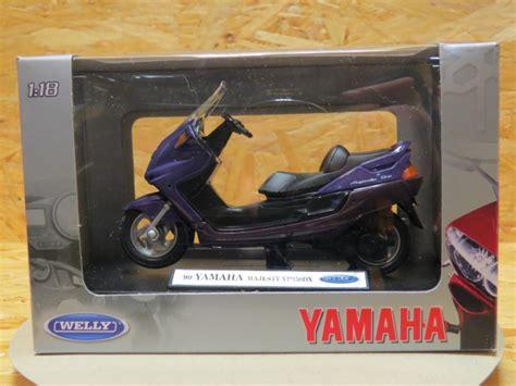 Diecast Welly Yamaha Vino Yj50r 1278 yamaha yp250 dx majesty 99 1 18