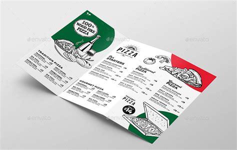 Tri Fold Pizza Menu Template By Brandpacks Graphicriver Tri Fold Menu Template Photoshop