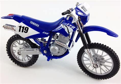 diecast motocross bikes yamaha ttr 250 1 18 diecast toy model motocross bike