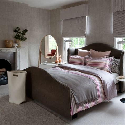 pink  grey bedroom decorating ideas traditional bedrooms housetohomecouk
