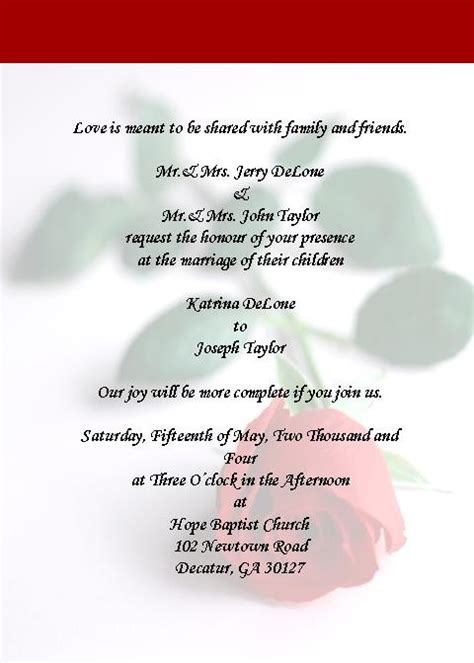 Wedding Announcement Ga by Invitations In Kennesaw