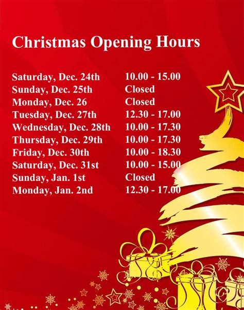 christmas trading hours at erina fair opening hours in vanity fair boutique newbridge