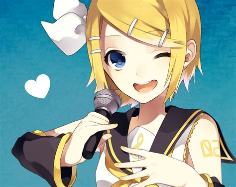 by rin kagamine rin rin kagamine vocaloid image 1540380