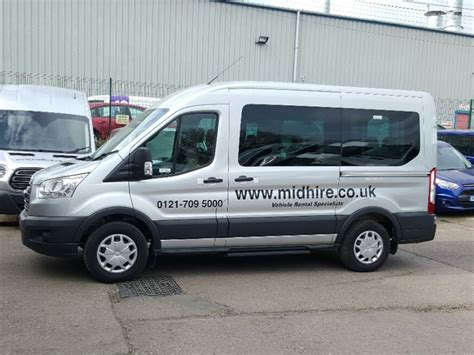 ford 12 seater passenger ford 12 seater minibus for hire midhire