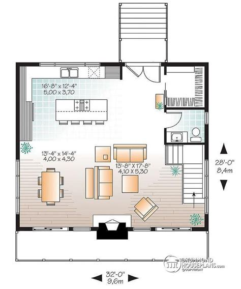 home plans with vaulted ceilings garage mud room 1500 sq ft w3969 scandinavian rustic ski chalet plan with 3 bedroom