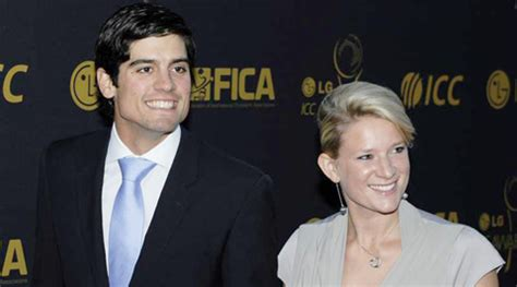 alastair cook wedding to alice hunt england cricket star my wife convinced me not to quit as captain reveals