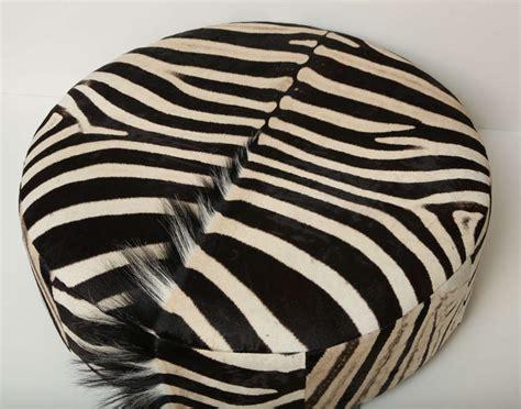 zebra ottomans zebra ottoman at 1stdibs